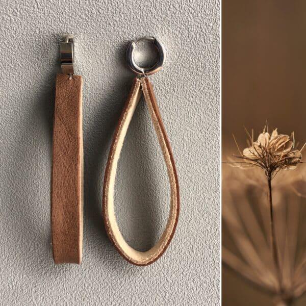 Kolczyki minimalistyczne