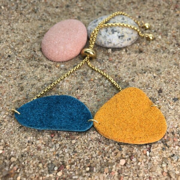 Bransoleta naturalne kamienie