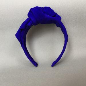 Opaska skórzana turban