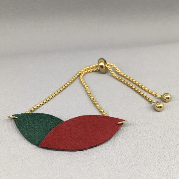 Bransoleta drobne liście